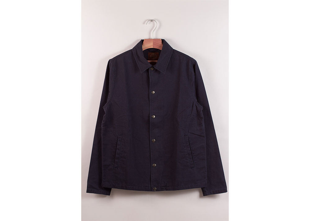 Satta Grounds Jacket | Dark Indigo