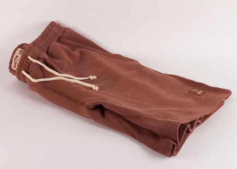 Satta Asana Hemp Shorts | Masala Red