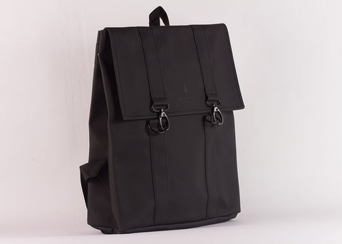 Rains MSN Waterproof Backpack | Black