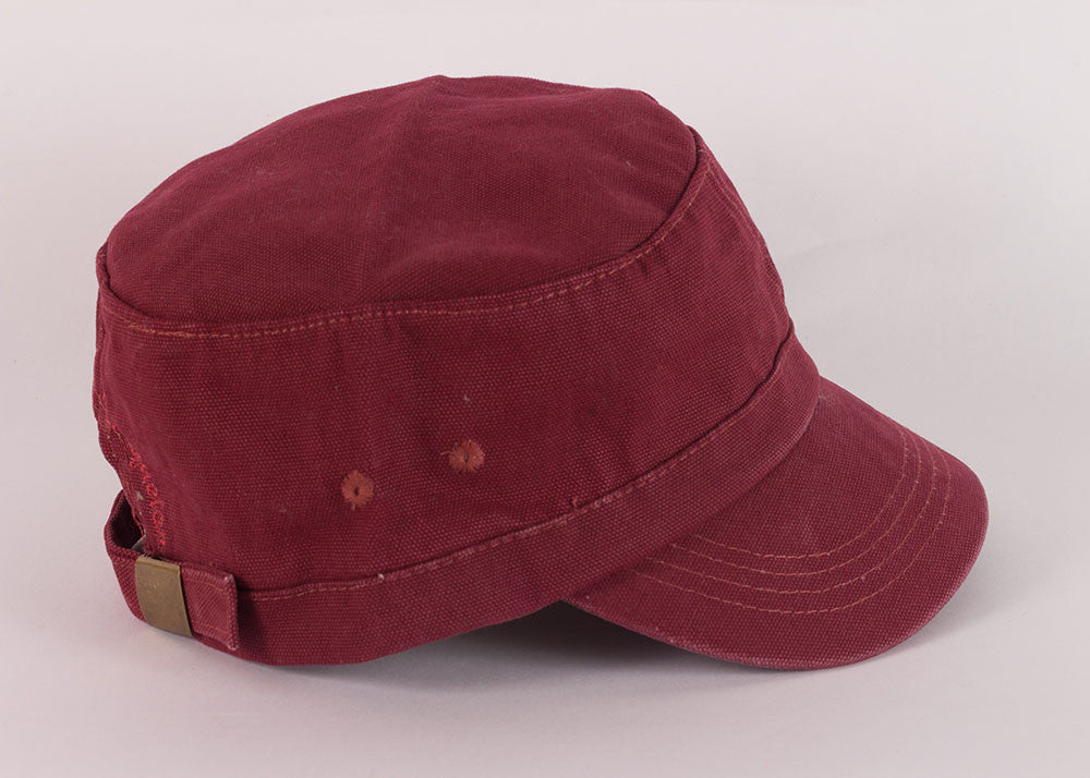 Mousqueton Canvas Breton Cap | Brique