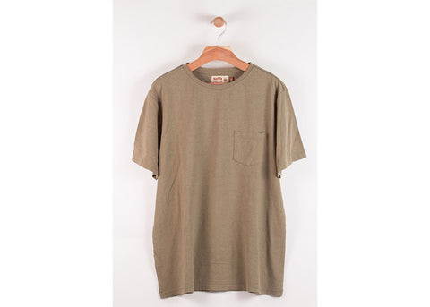 Satta Hemp Pocket Tee | Sea Foam
