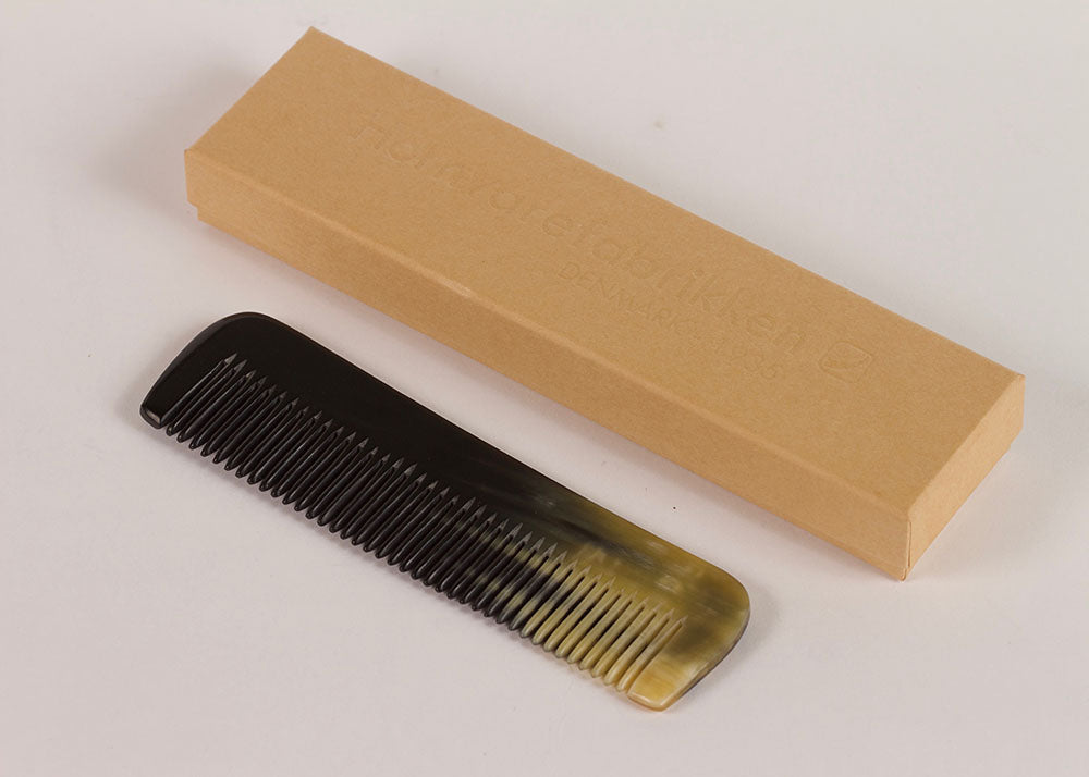 Bürstenhaus Redecker Natural Horn Comb | Narrow Tooth