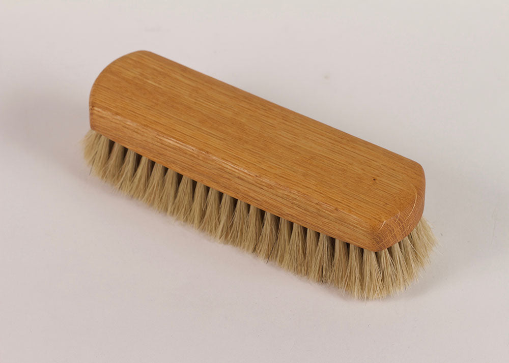 Bürstenhaus Redecker Shoe Shine Brush | Natural Horsehair & Oak