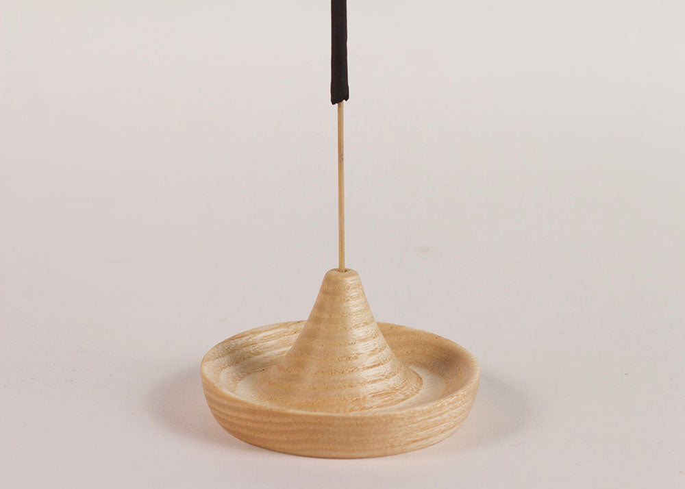 Shopkeeper Studio Hand Turned Incense Holder | Ash