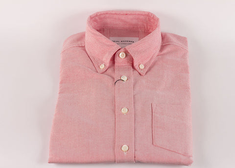Tripl Stitched Classic Button Down | Pink Oxford