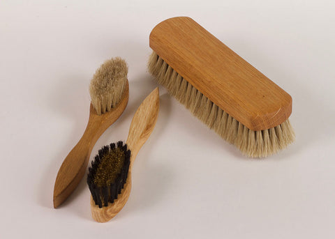 Bürstenhaus Redecker Suede Cleaning Brush | Natural Bristle & Oak