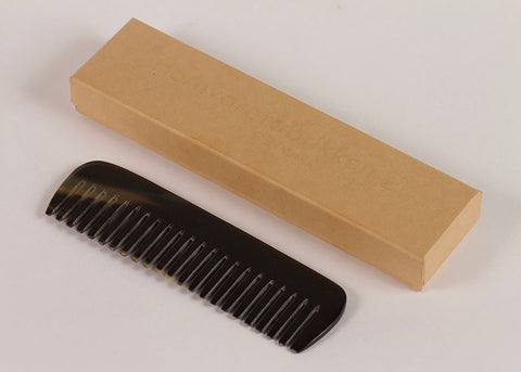 Shopkeeper Natural Horn Comb | Wide Tooth