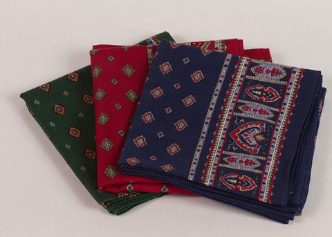 Shopkeeper Foulard Bandana | Souk Red