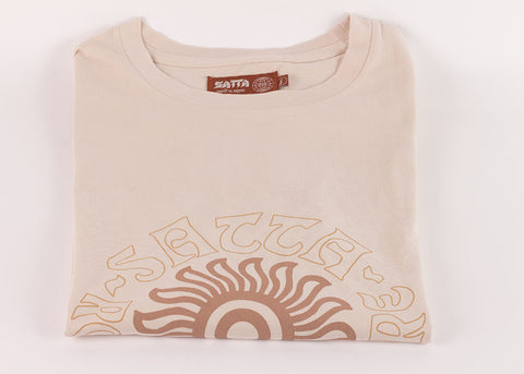 Satta Sunspot Tee | Washed Calico