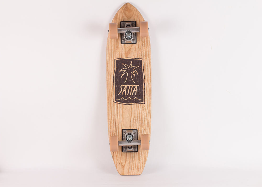 Satta Palm Jazz Maloka Skateboard | Oak Wood