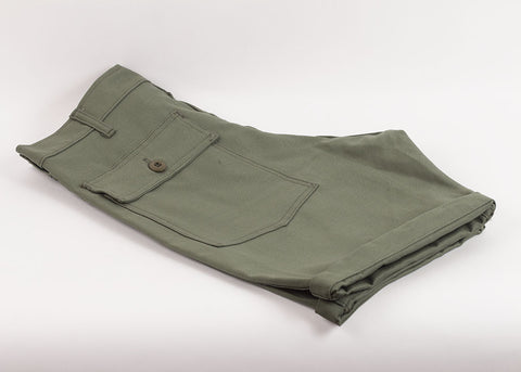Stan Ray Fatigue Short | Olive Sateen