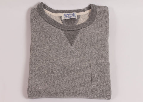 Velva Sheen Short Sleeve Pocket Sweatshirt | Heather