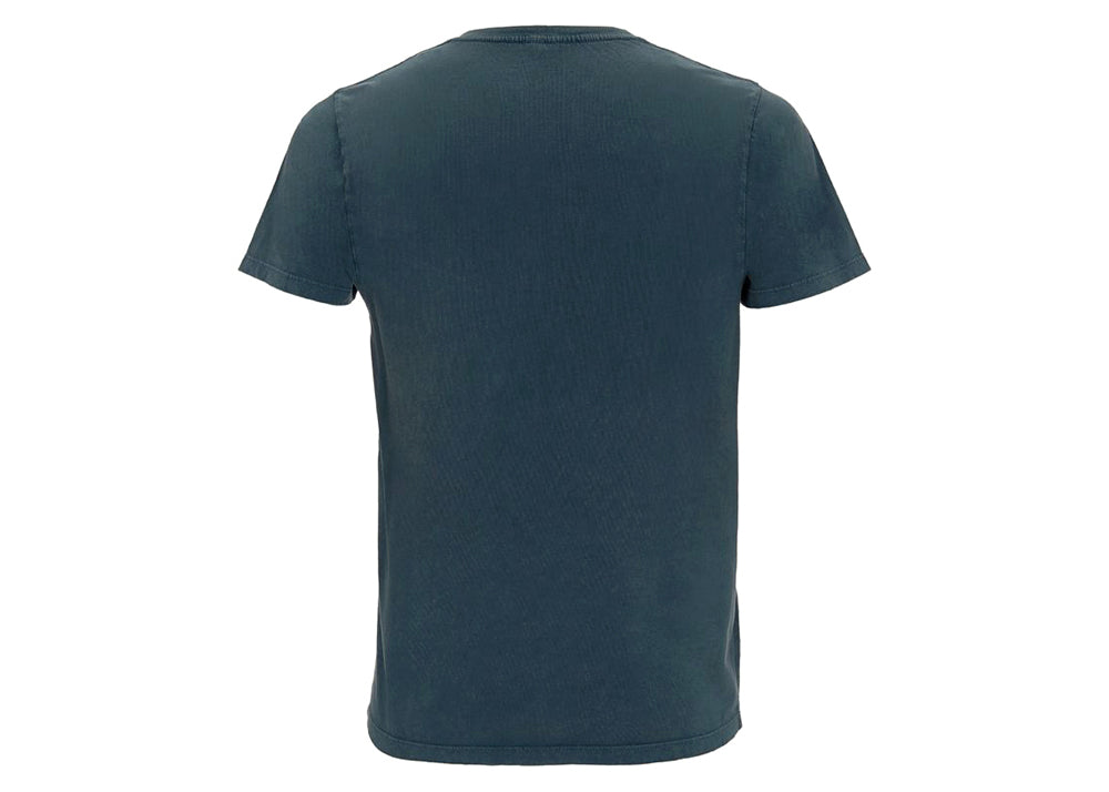 Earth Positive Organic Cotton Crewneck T-Shirt | Stonewash Indigo