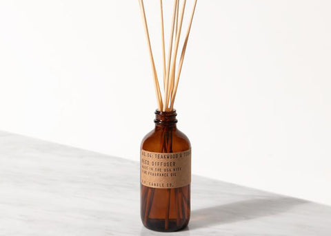 PF CANDLE CO Reed Diffuser | Teakwood & Tobacco
