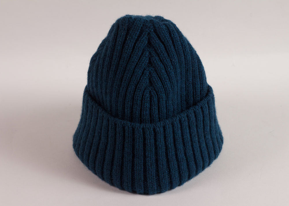 Shopkeeper Studio Lambswool Watch Cap | Teal