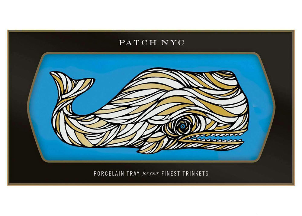Patch NYC Ceramic Tray | Whale