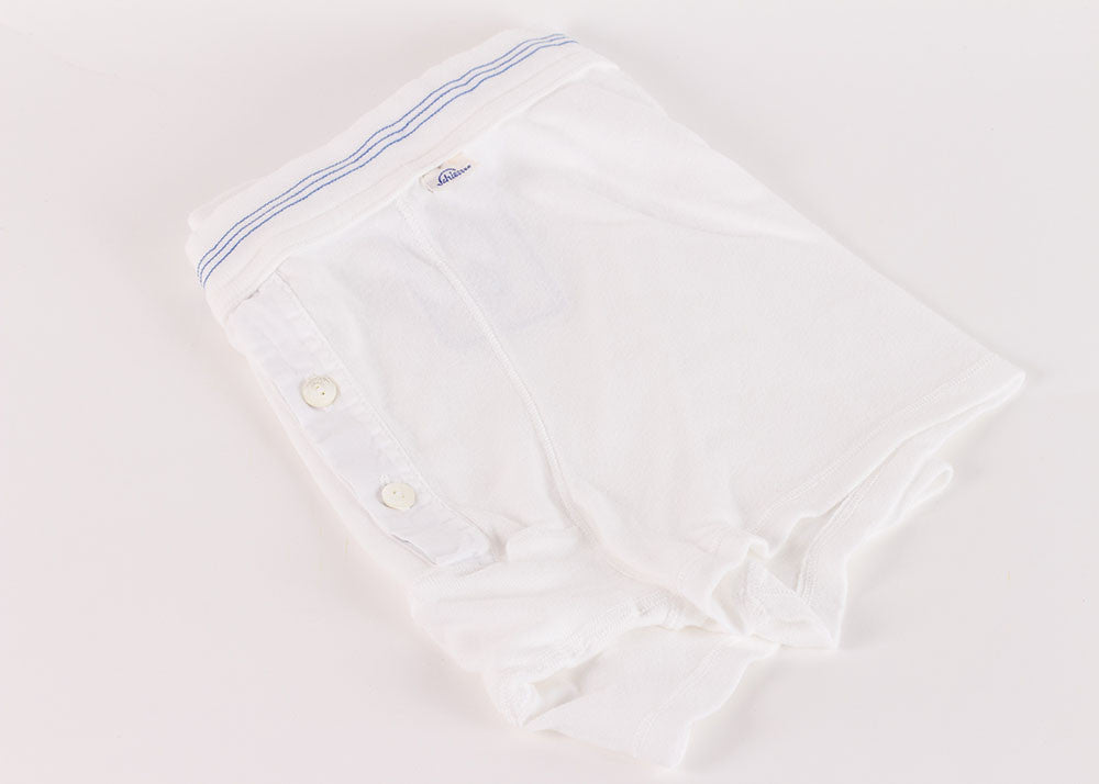 Schiesser Original Cotton Short  White