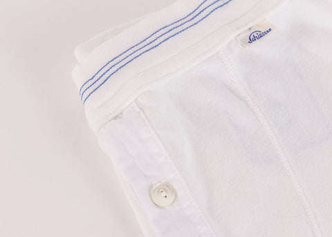 Schiesser Original Button Front Boxer Brief - White