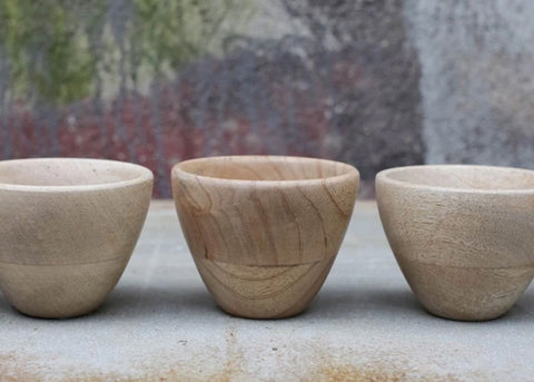 Nkuku Mango Wood Small Nibble Bowl