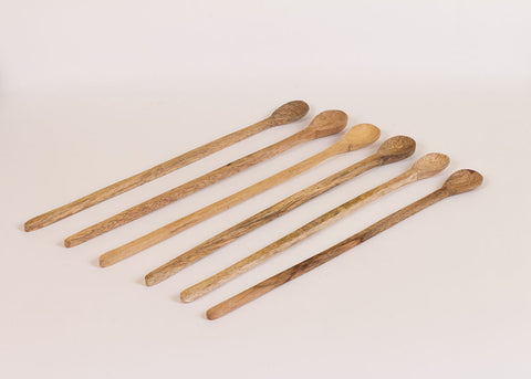 Fog Linen Work mango wood spoon - long
