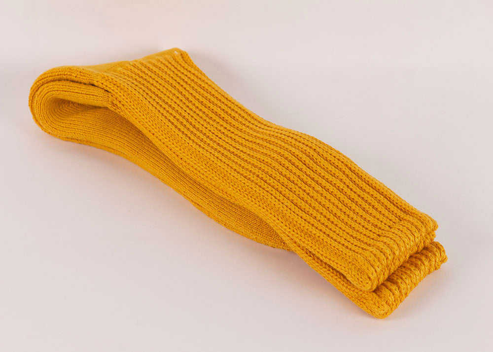 Rototo Loose Pile Walking Socks | Mustard