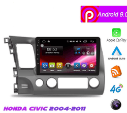 "10.1"" Android 9 Navigation Radio for Honda Civic 2004 - 2011"