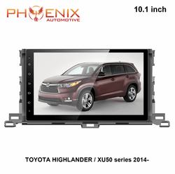 "10.1""  Android Navigation Radio for Toyota Highlander XU50 2014 2015 2016 2017"
