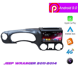 "10.1"" Android 9 Navigation Radio for Jeep Wrangler 2011 - 2014"