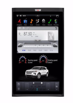 "[ PX6 six-core ] 17"" Vertical Screen Android 9 Fast boot Navi Radio for Ford Expedition 2015 2016 2017"