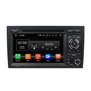 "7"" Octa-Core Android Navigation Radio for Audi A4 S4 RS4  2002 - 2008"