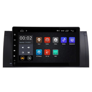 "9"" Octa-Core Android Navigation Radio for BMW 5 Series  M5  2000 - 2003"