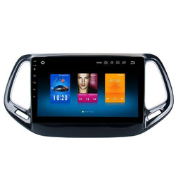 "9"" Octa-Core Android Navigation Radio for Jeep Compass 2017 - 2019"