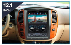 "12.1"" Vertical Screen Android Navi Radio for Toyota Land Cruiser LC100 2002 - 2007"