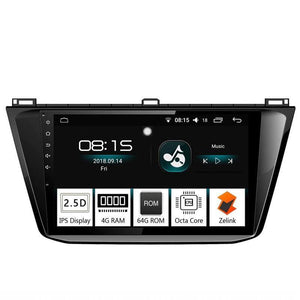 "10.1"" Octa-Core Android Navigation Radio for VW Volkswagen Tiguan 2018 2019"
