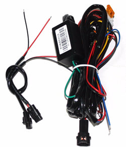 Universal Daytime Running Light DRL Harness w/ optional dimming and flashing wiring