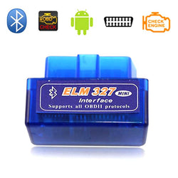 Super Mini OBD2 OBDII EML327 Adapter Auto Scanner Torque app