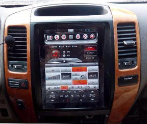 "10.4"" Metal Trim Vertical Screen Android 10.0 Navigation Radio for Lexus GX 470 2003 - 2005"