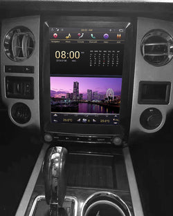 "[ PX6 six-core ] 12.1"" Vertical Screen Android 9 Fast boot Navi Radio for Ford Expedition 2015 2016 2017"