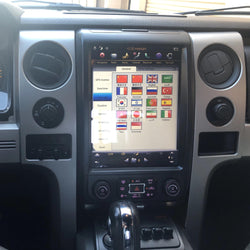 OPEN BOX [ PX6 six-core ] 12.1 inch vertical screen Android 9 Fast boot navigation receiver for 2009 - 2014 Ford F-150