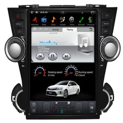 "Open box [ PX6 Six-core ] 12.1"" Android 9 Fast boot Navigation Radio for Toyota Highlander 2009 - 2013"
