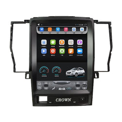 "10.4"" Vertical Screen Android Navigation Radio for Toyota Crown 2006 - 2009"