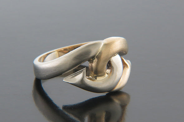 "Ladies ""Love Hooks"" Ring"