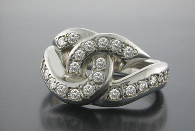 Diamond Love Hook Up Ring