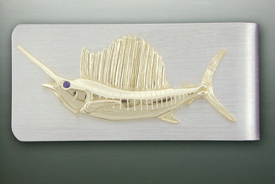 Sailfish Money Clip