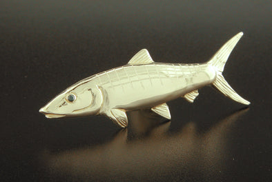 Medium Gold Bonefish Pendant