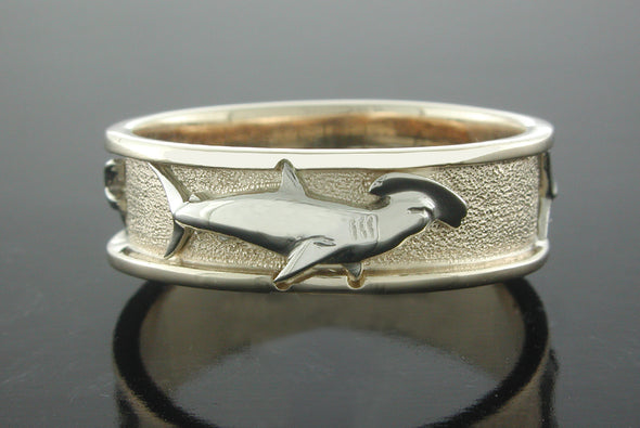 Grand Slam Ring (Hammerhead Shark Shown)