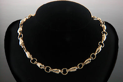 #80 lb. Size Rotating Swivel Necklace