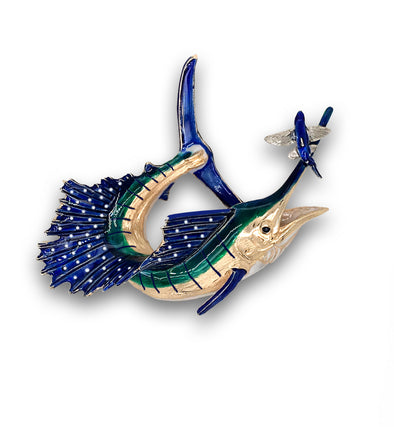 Hit and Miss Sailfish Pendant