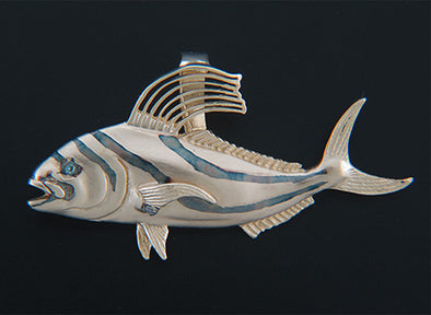 Rooster fish Pendant