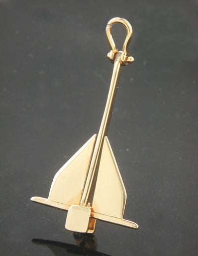 Danforth Anchor Pendant